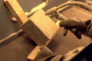 micro-sandblasting